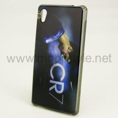"Силиконов калъф / гръб / TPU за Alcatel One Touch Idol 3 (5,5"") - CR7 / Cristian"