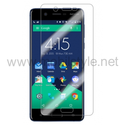 Удароустойчив извит скрийн протектор / 3D full cover Screen Protector за дисплей на Nokia 5 2017