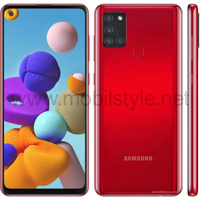 Samsung Galaxy A21s 64GB - Red