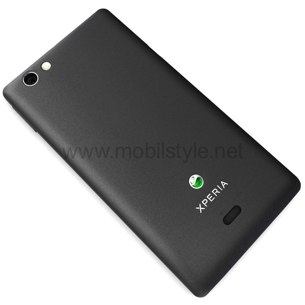 the gallery for gt xperia miro black
