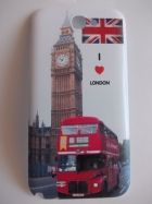 Оригинален капак за Samsung Galaxy Note 2 N7100 / Note II N7100 - I Love London