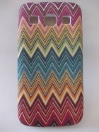 Силиконов калъф / гръб / TPU за Samsung G3500 Galaxy Core Plus - zig zag / цвете