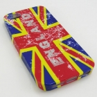 Силиконов гръб / калъф / TPU за Apple iPhone 5 / 5S - Union Jack Flag / England