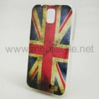 Силиконов калъф / гръб / TPU за Samsung Galaxy Note 4 N910 -  Retro British Flag