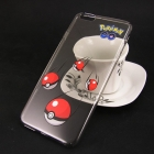 Твърд гръб за Apple iPhone 6 Plus / iPhone 6S Plus - прозрачен / Pokemon Ball