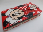 Кожен калъф Flip тефтер за Nokia Lumia 520 / Nokia Lumia 525 - Minnie Mouse / Ми