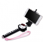 Селфи стик / Selfie Stick Handheld Monopod - черен / Hello Kitty