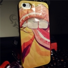 Силиконов калъф / гръб / 3D TPU за Apple iPhone 5 / iPhone 5S - Sexy Gruf Lip Pa