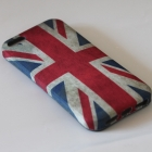 Силиконов калъф / гръб / TPU за Apple iPhone 5 / iPhone 5S - Retro Union Jack Fl