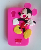 Силиконов калъф / гръб / TPU 3D за Samsung Galaxy Ace S5830 - Mickey Mouse / цик