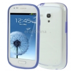Силиконов Bumper за Samsung Galaxy S III S3 Mini I8190 - син