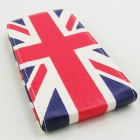 Кожен калъф Flip тефтер за LG Optimus G2 D802 - Union Jack Flag