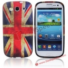 Силиконов калъф / гръб / TPU за Samsung Galaxy S III 3 I9300 - UK National Flag