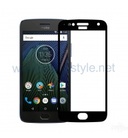 3D full cover Tempered glass screen protector Lenovo Moto G5S / Извит стъклен ск