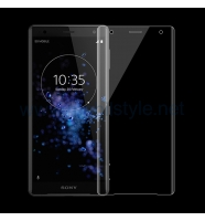 3D full cover Tempered glass screen protector Sony Xperia XZ2 / Извит стъклен ск