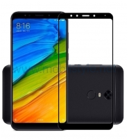3D full cover Tempered glass screen protector Xiaomi Redmi 5 / Извит стъклен скр