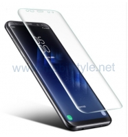 3D full cover Tempered glass screen protector Samsung Galaxy A6 2018 A600F / Изв